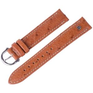 Maurice Lacroix Horlogeband Struisvogel Cognac 15 en 17 mm