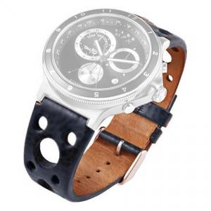 Rosendahl Tom Kristensen MPH Watch Horlogeband Blauw Leer