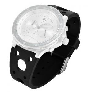 Rosendahl Tom Kristensen Watch Horlogeband Zwart Rubber