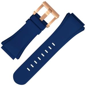 TW Steel Horlogebandje CEO Tech Blauw Rubber 44mm