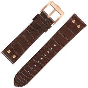TW Steel Slim Line Horlogebandje TWA1312 TWA1313 - Bruin 22mm