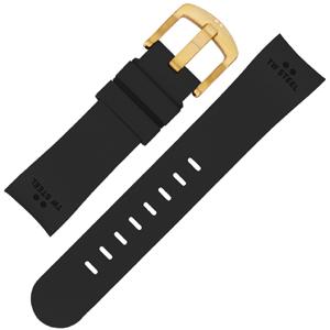 TW Steel Horlogebandje TW28, TWA28 - Zwart Rubber 22mm