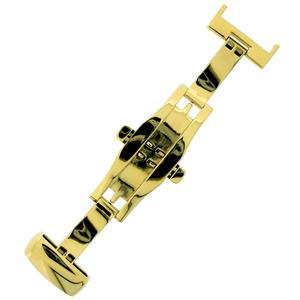 Vlindersluiting voor Horlogeband - Goud RVS