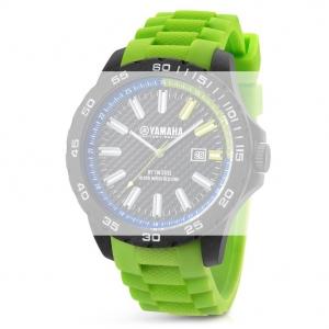TW Steel Y9 Yamaha Factory Racing Horlogebandje - Groen Rubber 20mm