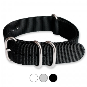 Black ZULU Extreme Premium Nylon Strap