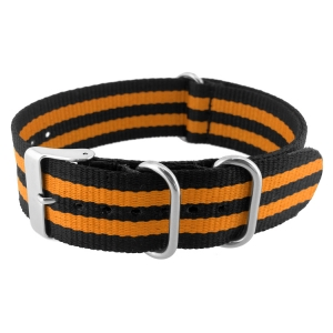 NATO ZULU Extreme Nylon Horlogeband Orange Bond