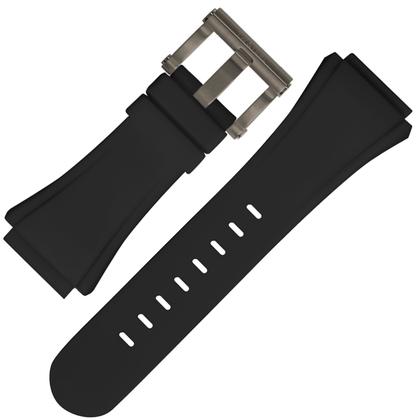 TW Steel Horlogebandje CE5000 CEO Diver Tech 44mm - Zwart Rubber