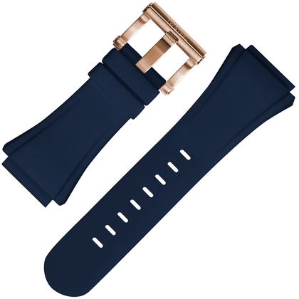 TW Steel Horlogebandje CE5010 Blauw Rubber 30mm