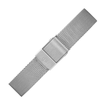 Daniel Wellington 14mm Classic Petite Sterling Mesh Horlogebandje RVS