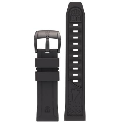 Luminox 5020 SXC / XCOR Aerospace Horlogeband Zwart Rubber - FP.5020.20B